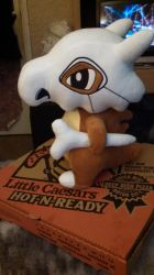 Cubone plush by Sliverbolt