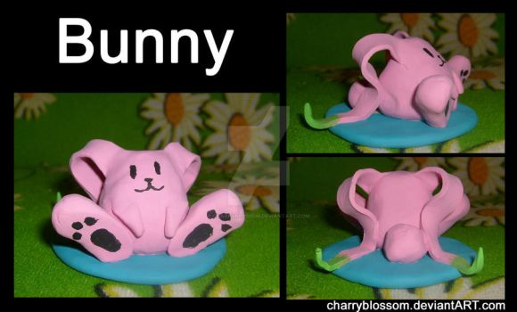 SO3 Bunny Sculpture by charryblossom