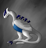 A tribut to Lugia by Nami-v