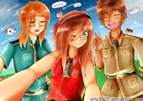 .::Hetalia::. Spanish Selfie by Senpai-Hero