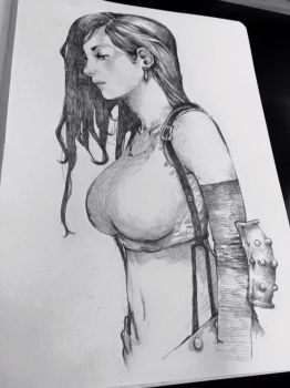 I did another Tifa by martinhoulden