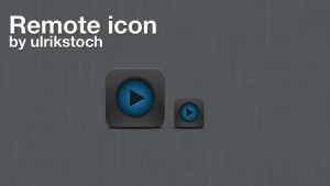 Remote icon by ulrikstoch
