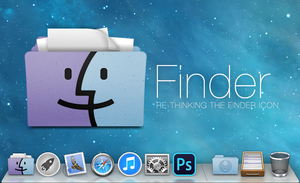 RE-THINKING THE FINDER ICON by osullivanluke