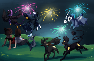 PKMNation: Children of the night by CatLuvsCookies