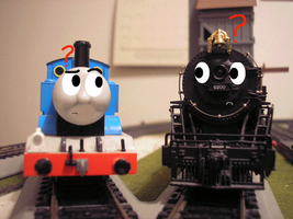 Conner meets Thomas by Tyler3967
