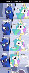 MLP How to Negotiate by LoCeri