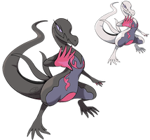 Pokemon Fan Art - Salazzle