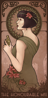 Miss Fisher by aliceazzo