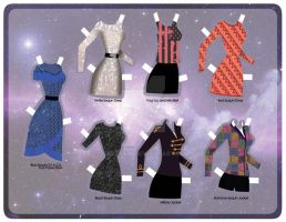 Sequin and Patriotic Outfits [Paper] by razzysri