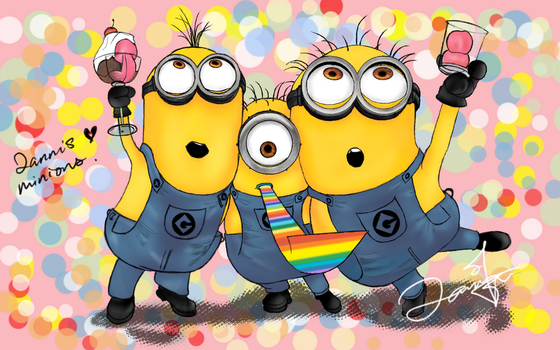 Minions. by pspndslover