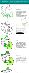 Tutorial Falling in an endless sleep by LilliTheFox