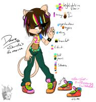 Dane the Mouse - for Ennas by Flamy-Star