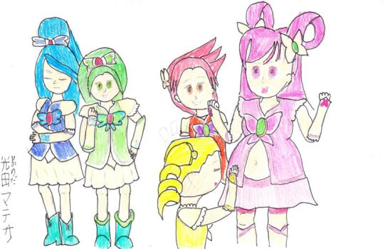 Yes, Pretty Cure 5 PLUS by DBCDude01