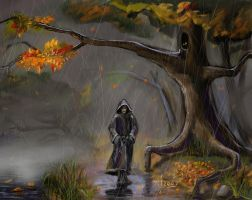in the late of autumn by mixei