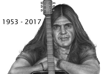 Malcom Young       ACDC   1953 - 2017      IMG by RodgerHodger
