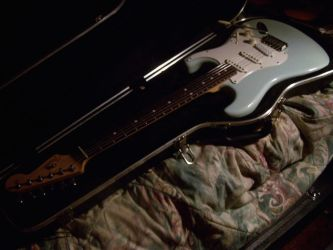 Fender American Standard Stratocaster by Rubber-Band-Of-Doom