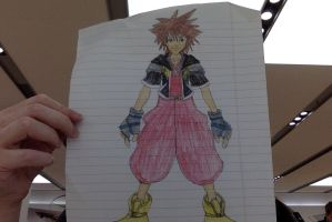 sora-kingdom hearts by mariko85