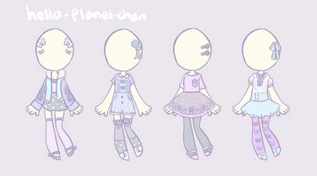[outfit set] - cvrryspice [3/4] by hello-planet-chan