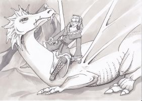 Ice and Dragons by Silwery