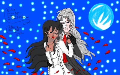 Fuji And Vincent As Christine And Phantom by SailorMoonFanGirl