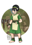 Toph Beifong by hello-planet-chan