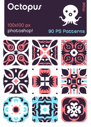 octopus photoshop patterns by mae-b