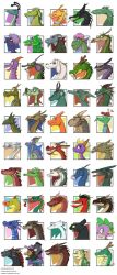 Dragons of Pop Culture by Expression