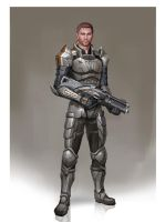 Alistair - Mass Age by AndrewRyanArt