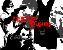Joker Brush Set by Blaspheme-the-Chruch