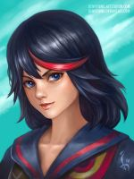 Ryuko Matoi by denn18art