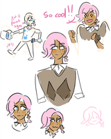ilima doodles by Lionstryke