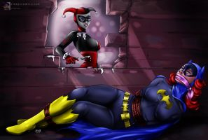 Batgirl - 'Walled In' Peril by sleepy-comics