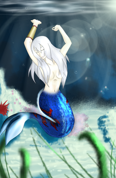 Color under the sea by kallou123