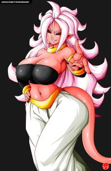 MAJIN ANDROID 21 Ver.01 by Witchking00