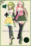 . : TDA Happy Synthesizer Luka and GUMI dl : . by Sushi-Kittie