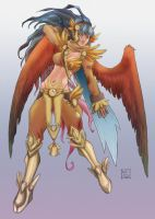 Warrior Angel by zuzoid
