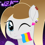 BlackWater Avatar 2018: Pride Month (Ponysona) by BlackWater627