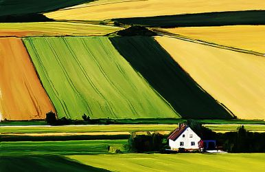 PS Painting - Farm by coolwindsg