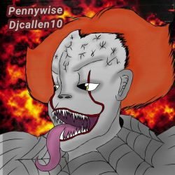 Pennywise (IT) by Djcallen10
