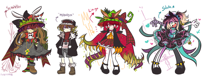 ProjectStella Cast by Andgofortheroll-123