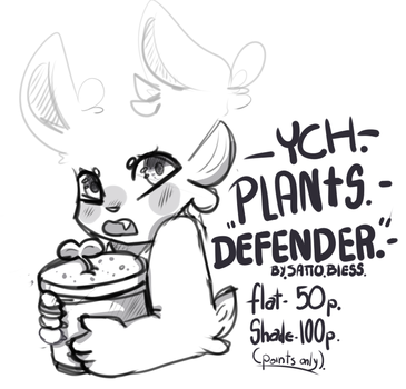 Plants Defender YCH by SattoBless