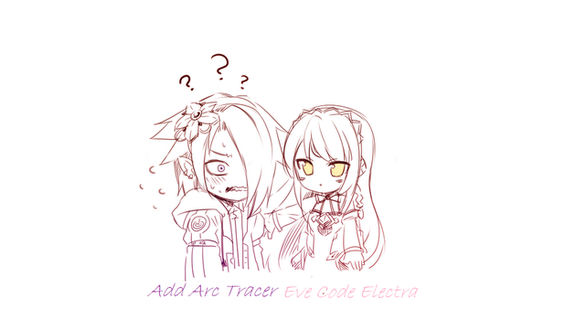 Add Arc Tracer and Eve Code Electra by Tangel-Tanjel