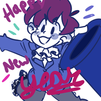 Happy New Year!! by tinstarbby