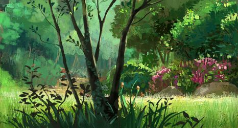 Ghibli Master study by ThuanHuynh