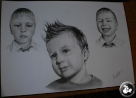 child's emotions (drawing) by KondaArt