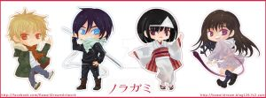 Noragami Chibis by Kawaii-Dream