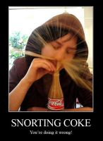 Snorting Coke by CheshireCaterling