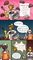 Cannot Give Chocolate by Fun2BeRandom