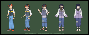 Ash to Hinata TG TF Commission by JohnColburn