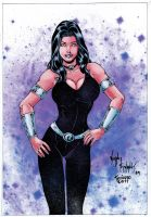 Donna Troy_Color. by Troianocomics